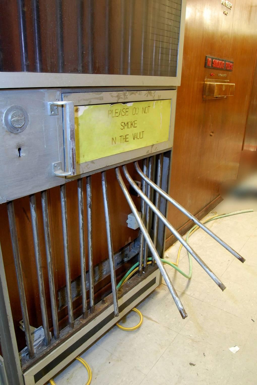 Hatton Garden The Biggest Jewel Heist In British History Gq Wiring Vault 88