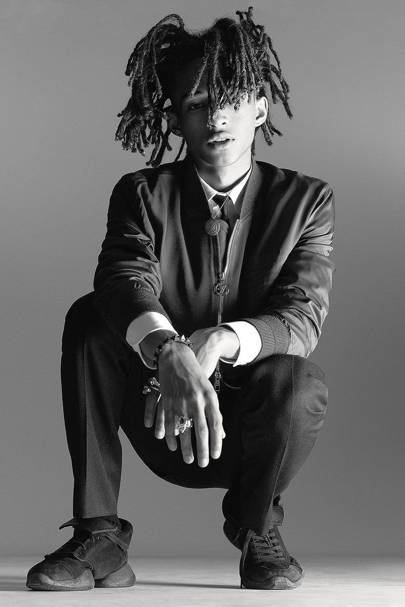 Jayden Smith photographed for GQ Style wearing jewellery by Shamballa.