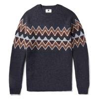 NN07 Fair Isle Wool-Blend Sweater
