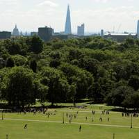 Share a bottle of wine on Primrose Hill