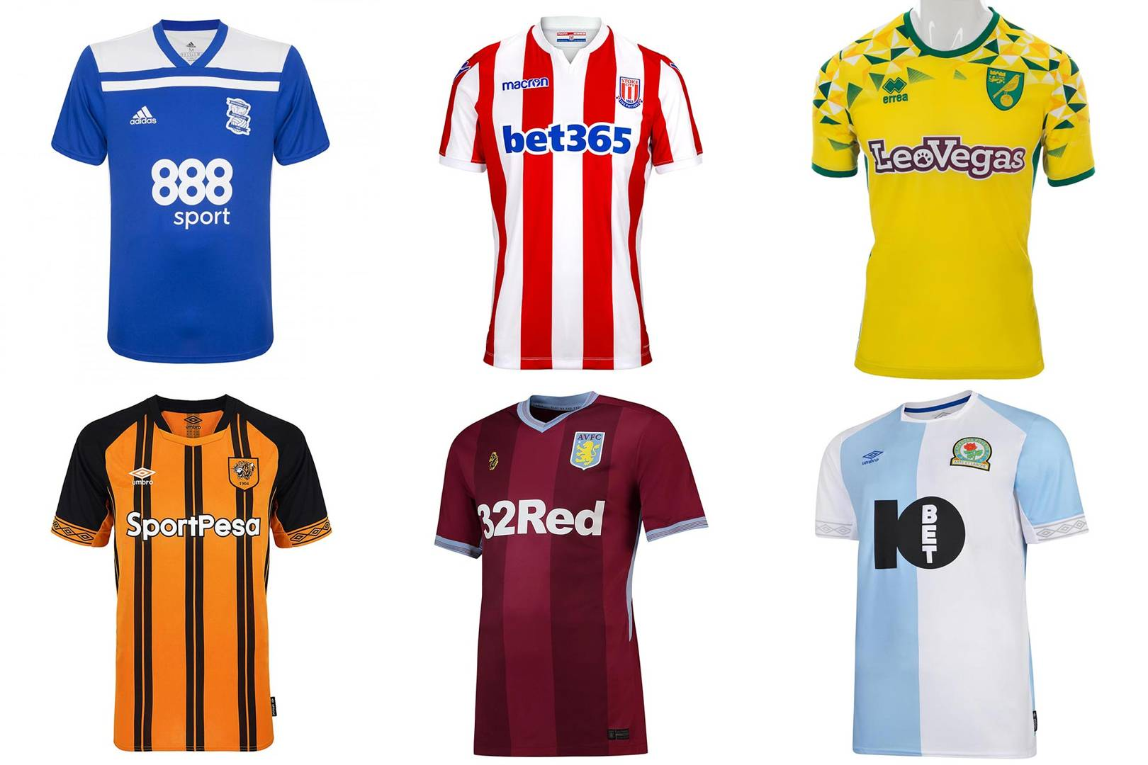 5003a25d20b Championship kits 2018/19 ranked from worst to best | British GQ