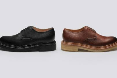 Nick Wooster and Grenson have teamed up on the season's most #menswear shoe collab