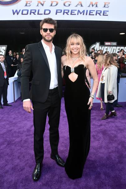 Bringing Spring formality to the Avengers: Endgame premiere