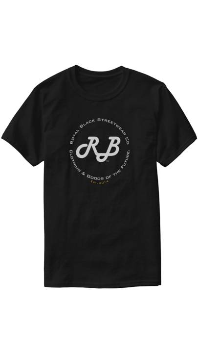 RB Future Stamp Tee by Royal Black