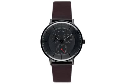 THEY – Grande Dark Chocolate in Black by ADEXE Watches