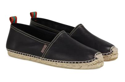 Penelope Chilvers Canyon leather espadrilles