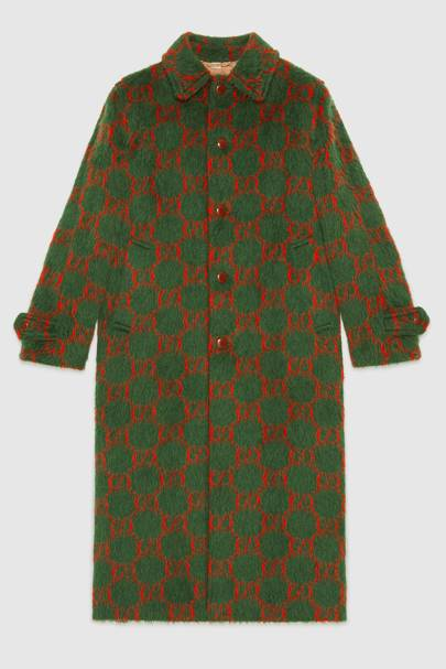 GG wool coat by Gucci