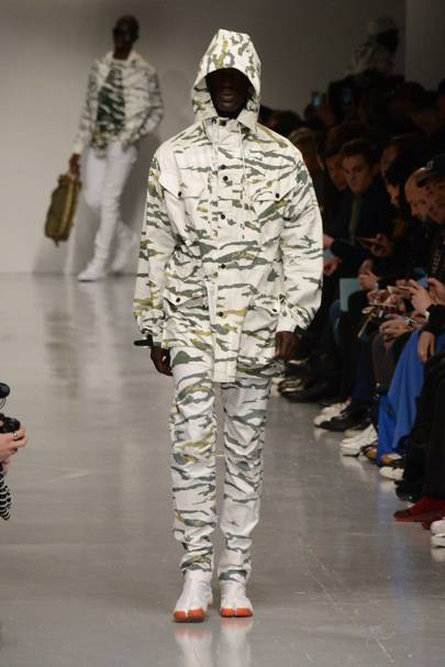 AW17: Camo is the season's most conspicuous pattern