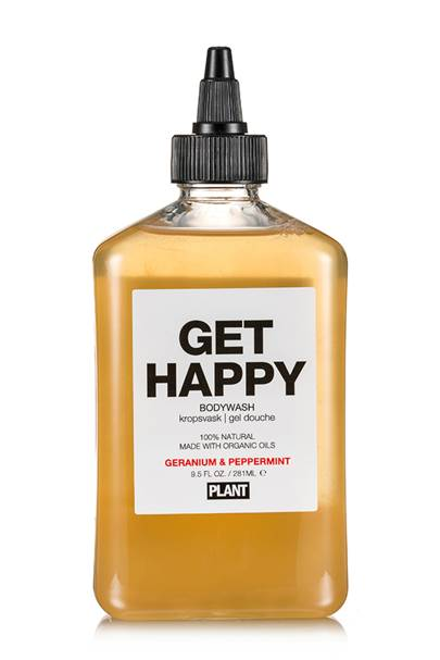 Get Happy organic body wash by Plant Apothecary