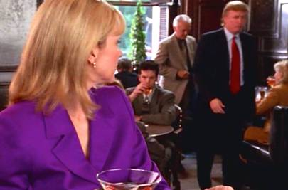 1999: Trump cameo in Sex and the City