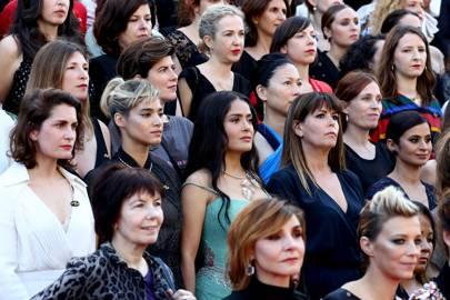 Girls Of The Sun (Les Filles Du Soleil) red carpet arrival