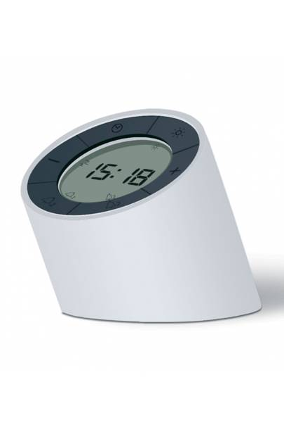 The Edge Light Alarm Clock by Gingko