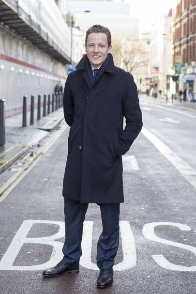 Jason Broderick, menswear fashion director, Harrods