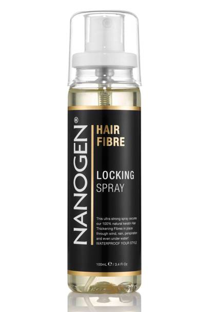 Hair Fibre Locking Spray by Nanogen