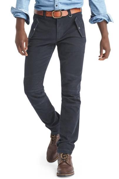 Gap x GQ US Michal Bastian moleskin trousers