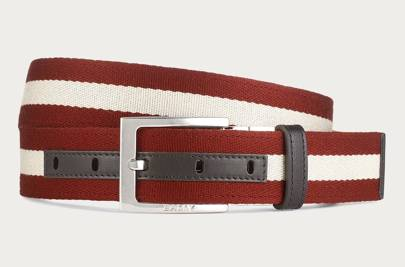Bally reversible leather belt