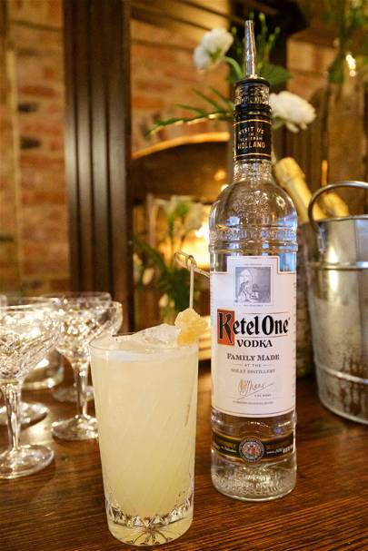 The vodka cocktails at GQ Heroes were mixed with Ketel One