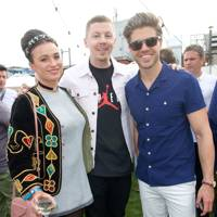 Gizzi Erskine, Professor Green and Darren Kennedy