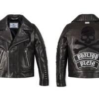 Philipp Plein 'Black Evil' leather jacket