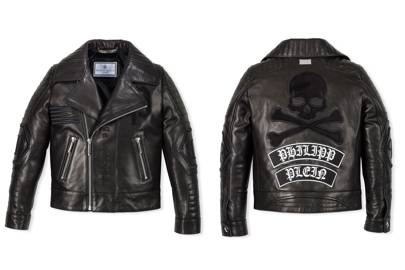 Philipp Plein 'Black Evil' leather jacket