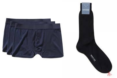 1. A good selection of pants and socks