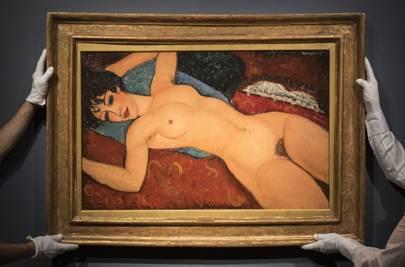 Nu couché. 1917. Oil on canvas