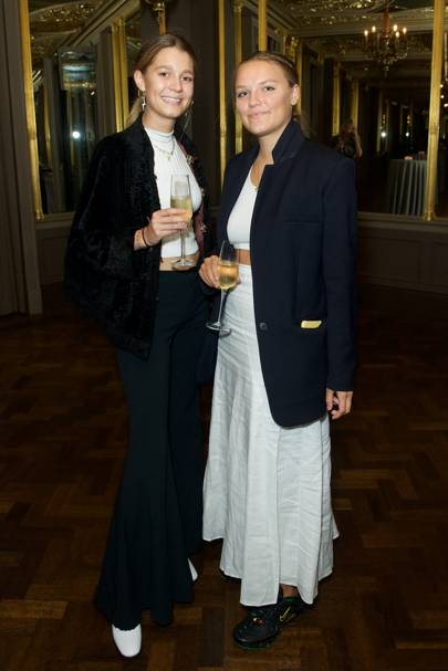 Caroline Scarcliffe and Edie Jones