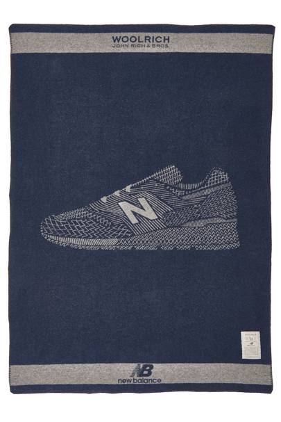 Blanket by Woolrich x New Balance