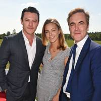 Luke Evans, Peggy Nesbitt & James Nesbitt