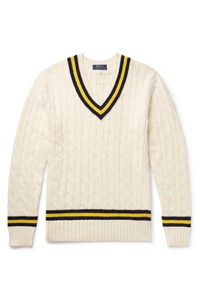 V-neck sweater by Ralph Lauren