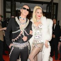 Jeremy Scott and Gwen Stefani