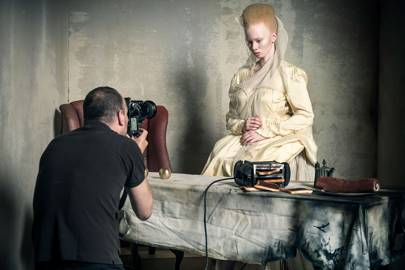 Thando Hopa and Tim Walker