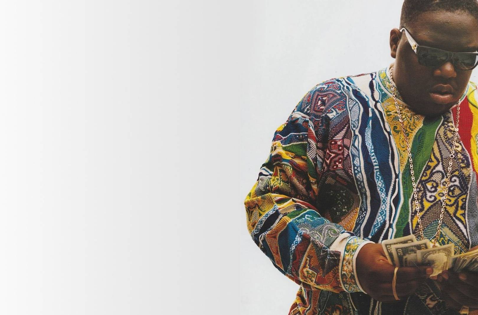 f4397962681 Notorious B.I.G s Cosby COOGI jumper is now on sale