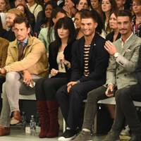 Larry King, David Gandy, Daisy Lowe, Aljaz Skorjanec, Struan Moore, and Thom Evans