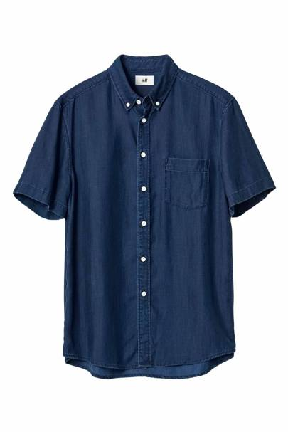 David Beckham H&M Modern Essentials short-sleeved shirt