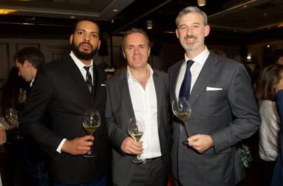 Richard Vedelago, Robert Mearn and Simon Taylor
