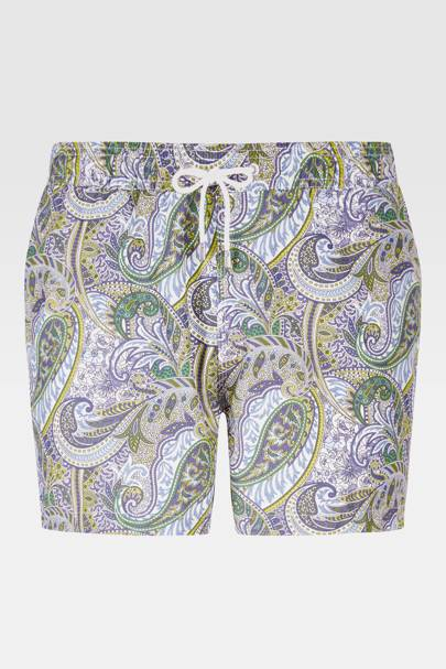 Hackett Mayfair paisley swimshorts