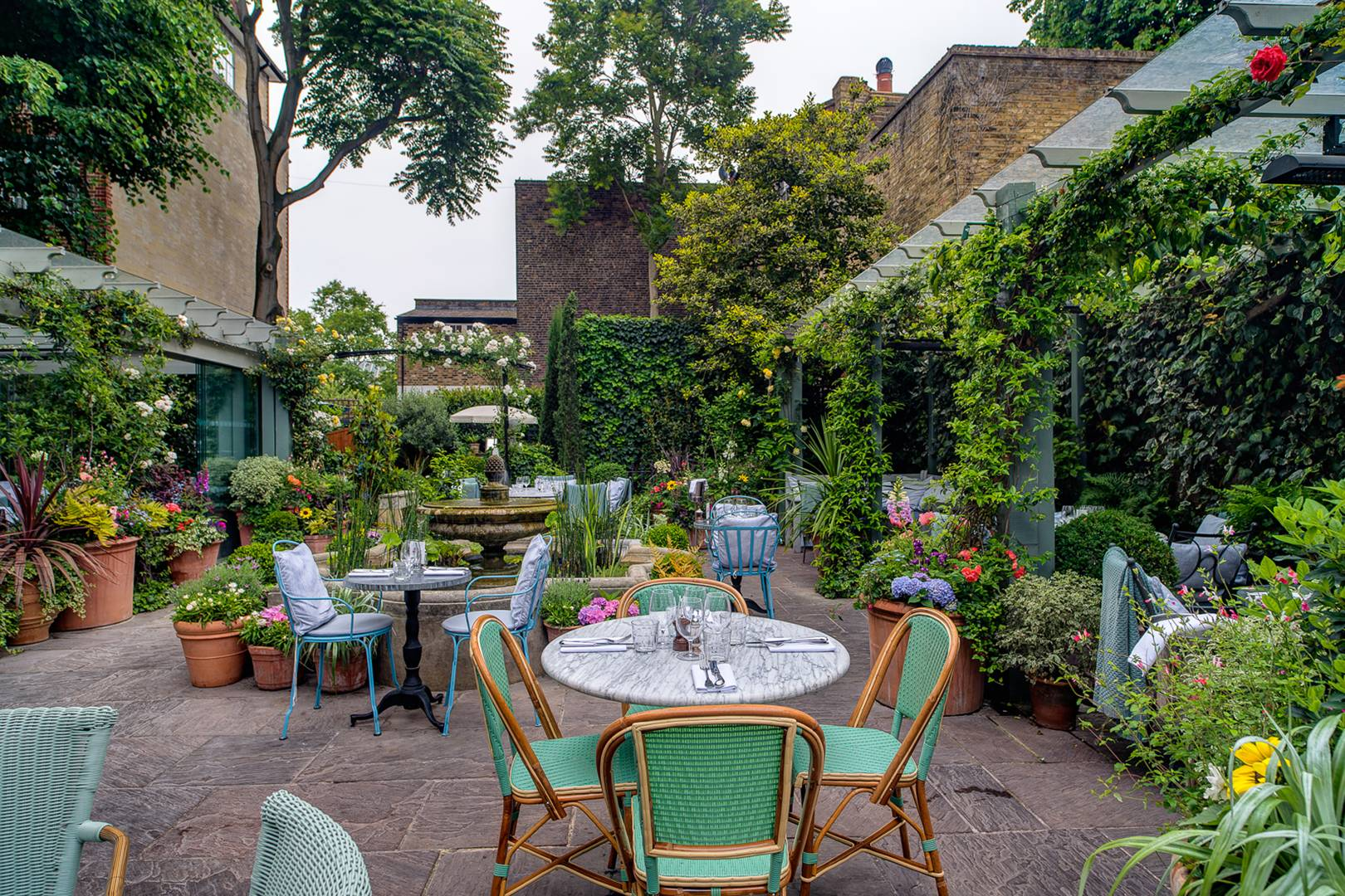 best outside bars and restaurants in london 2017 british gq