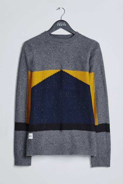 Native Youth 'Barometer' knit