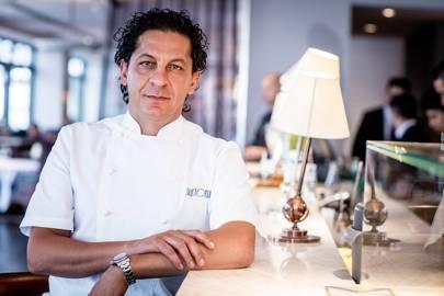 Francesco Mazzei, chef patron ofSartoriaon Savile Row,Radiciin Islington, andFiumeat Battersea Power Station