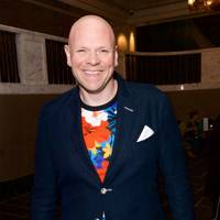 Tom Kerridge presented the award for Best Chef to Paul Ainsworth at No6