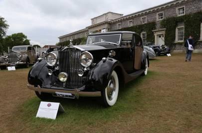 1937 Rolls-Royce Phantom III Park Ward Sedanca de Ville