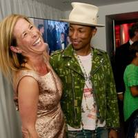 Jo Levin and Pharrell Williams
