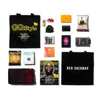 Inside the GQ Style goodie bag...
