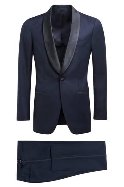 Havana blue tuxedo by SuitSupply