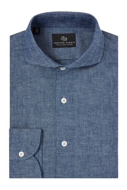 Chambray shirt by Chester Barrie