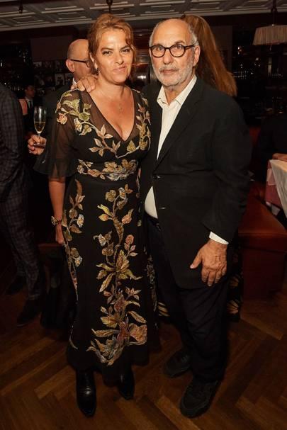 Tracey Emin and Alan Yentob