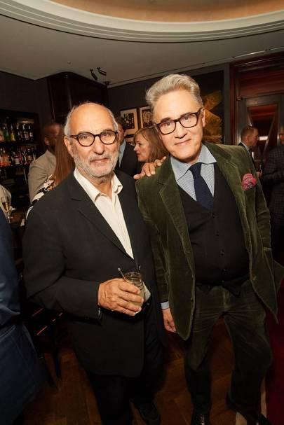 Alan Yentob and Peter York