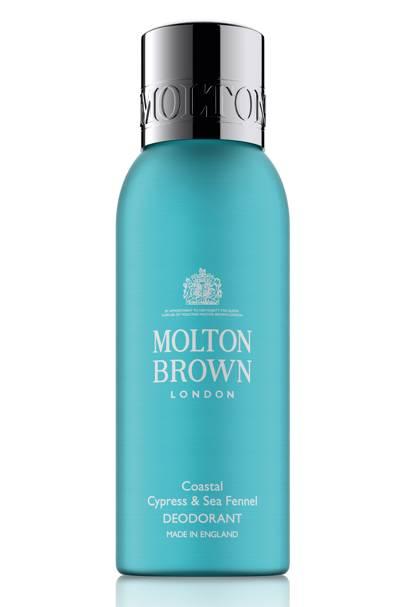 Best New Deodorant: Coastal Cypress & Sea Fennel Deodorant by Molton Brown
