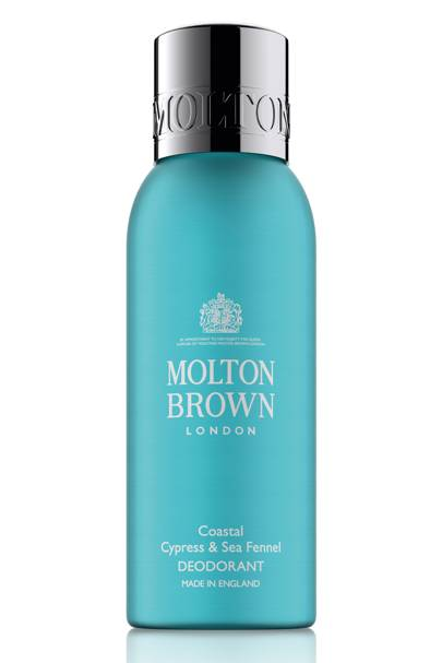 Best New Deodorant: Coastal Cypress & Sea Fennel Deodorant by Molton Brown
